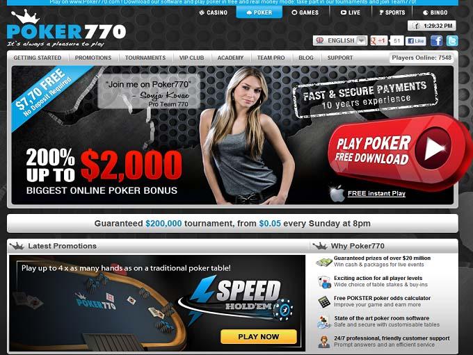 Poker770 Home