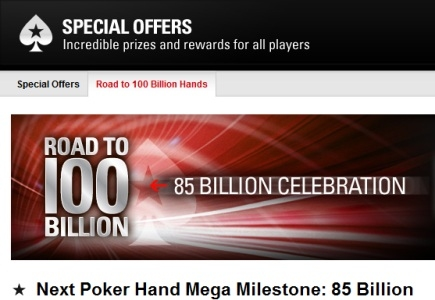 New Milestone Hand to Be Reached by PokerStars?