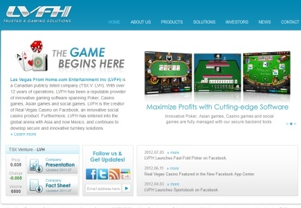 Social Gaming Fast-Fold Poker by LVFH
