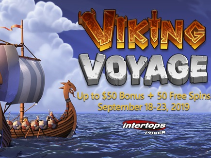 Grab Intertops Poker Giveaways on Viking Voyage this Month!