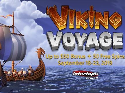 Grab Intertops Poker Giveaways on Viking Voyage this Month!