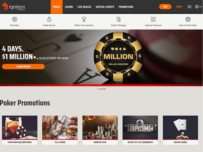 Ignition Poker Home