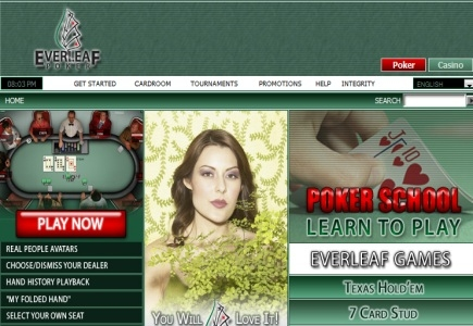 Everleaf Poker Network Loses another Member
