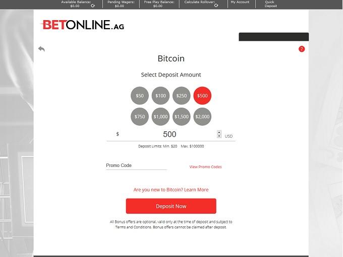 BetOnline Poker Bank