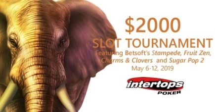 Intertops Poker Announces May Slots Tourney