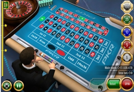 New Roulette iOS App from PKR