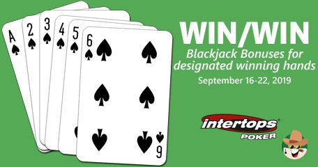 Winning Hands of Blackjack Players to Grab a Share of $2000 Worthy Intertops' Bonuses