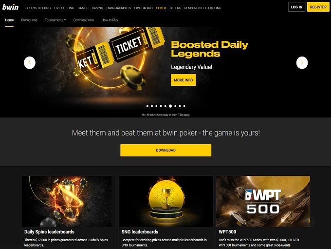 Bwin Home Page