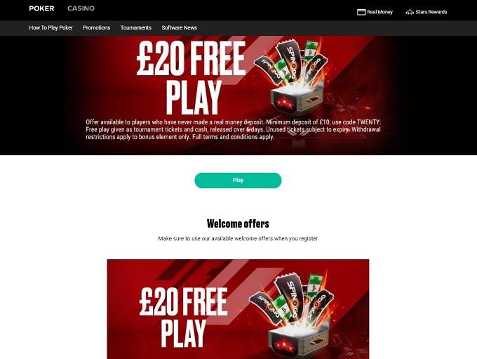 Full Tilt Poker Home Page