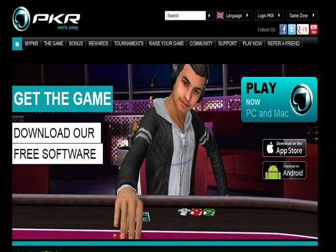 PKR Home Page