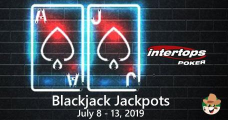 The Sizzling $2000 Blackjack Jackpots Event At Intertops Poker Continues Until Saturday