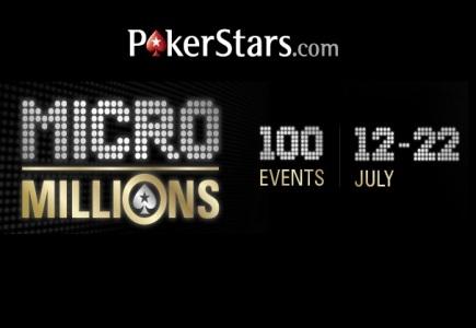Great Response to PokerStars' MicroMillions Tourney!