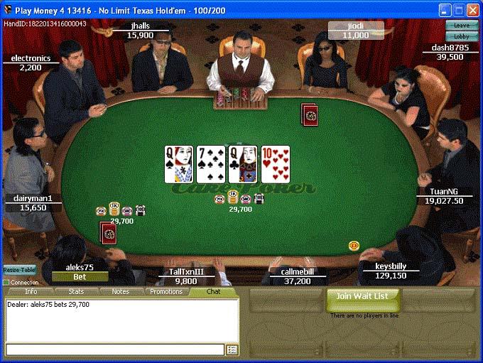 Cake Poker Table